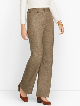 Talbots High Waist Flare Pants - Donegal
