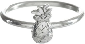 Pineapple Ring Sterling Silver