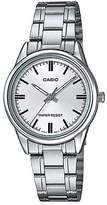 Casio Women's LTP-V005D-7 Dial Stainless Steel Band Analog Watch