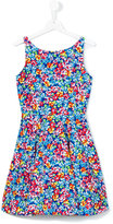 Polo Ralph Lauren floral print flared dress - kids - Cotton - 14 yrs