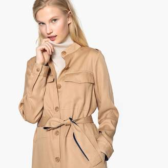 La Redoute Collections Belted Shirt Dress