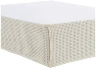 Glucksteinhome Matelasse Cotton Bed Skirt