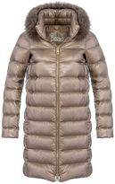 Herno Down Jacket Collar Long Hair