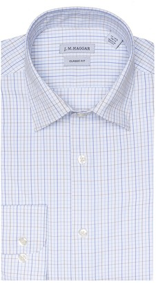Haggar Men's J.M. Premium Performance Classic-Fit Stretch Dress Shirt