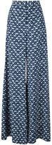 Peter Pilotto floral print palazzo pants - women - Viscose - 10