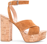 Gianvito Rossi Suede Suzie Platform Sandals