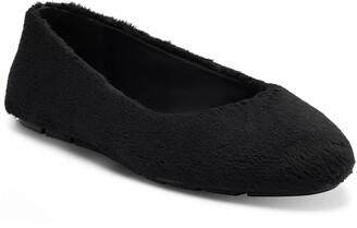 Jessica Simpson Brinley Faux Fur Flat