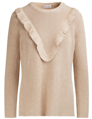 RED Valentino Lurex sweater
