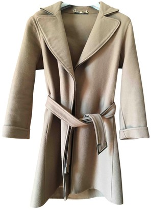 Gucci Camel Cashmere Coat for Women