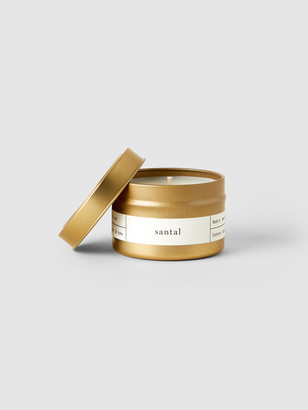 Brooklyn Candle Studio Santal Gold Travel Candle