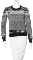 Opening Ceremony Wool Patterned Sweater