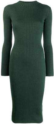 Études ribbed knit dress