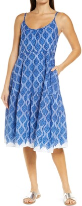 Roller Rabbit Dakota Cover-Up Maxi Dress