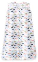 Halo SleepSack® Medium Racetrack Cotton Wearable Blanket in White