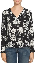 1 STATE 1.STATE Floral Print Cutout Back Blouse