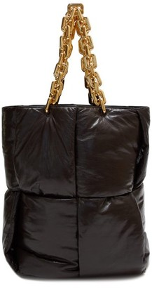 Bottega Veneta Chain-handle Quilted Leather Tote Bag - Brown