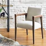 west elm A-Frame Leather Accent Chair