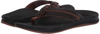 Reef Leather Ortho-Coast (Brown) Men's Sandals