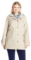 Tommy Hilfiger Women's Plus-Size Hampton Twill Anorak
