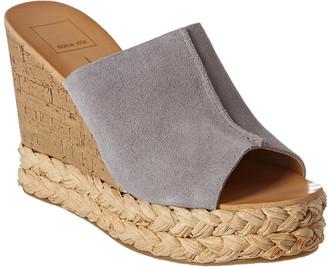 Dolce Vita Laris Suede Wedge Sandal
