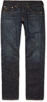 Rrl - Slim-fit Washed Selvedge Denim Jeans