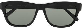 Brioni Square Frame Sunglasses