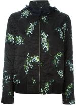 Moncler Gamme Rouge 'Iris' patterned jacket - women - Silk/Feather Down/Polyamide/Polyester - 0