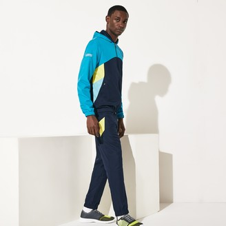 Lacoste Mens SPORT Hooded Colorblock Tracksuit