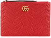 Gucci textured clutch bag