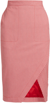 Altuzarra Wilcox stretch-cotton pencil skirt