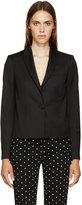 Givenchy Black Light Cropped Blazer