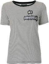 Emporio Armani My Universe striped T-shirt