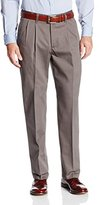 Lee Men's No Iron Relaxed Fit Pleated Pant