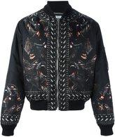 Givenchy baboon print bomber jacket