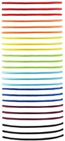 Forever 21 FOREVER 21+ Multi-Colored Hair Tie Set