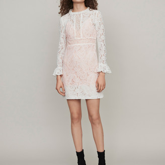 Maje Shortguipure lace dress