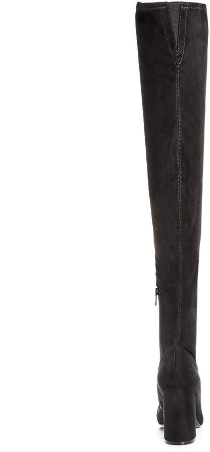 Marc Fisher Women's Praye Stretch High Heel Over-the-Knee Boots