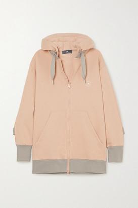 adidas by Stella McCartney Cotton-blend Jersey Hoodie - Pink