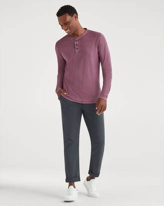 7 For All Mankind Slim Chino in Dark Grey