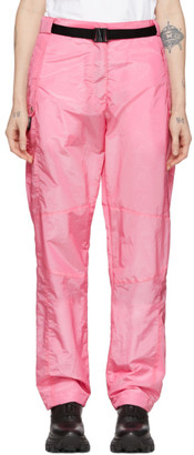 MSGM Pink Belted Loose Fit Trousers