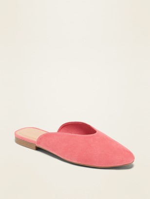 Old Navy Faux-Suede Mule Flats for Women