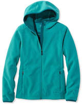 L.L. Bean Women's Wind Challenger Fleece, Hooded Jacket