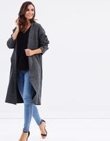 DECJUBA Tarnie Textured Knit Coat