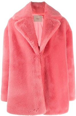 Twin-Set Faux Fur Coat