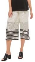 Topshop Women's Spot Stripe Crop Maternity Trousers