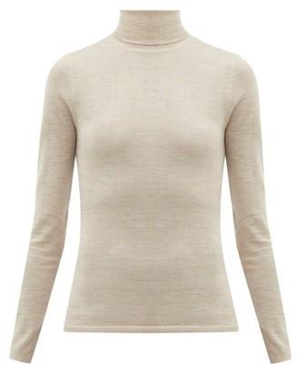 Gabriela Hearst Costa Cashmere-blend Roll-neck Sweater - Beige