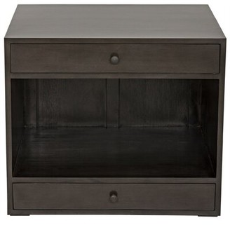 Noir Sumiko End Table with Storage