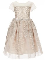 Bonnie Jean Just Another Angel Little Girls 4-6X Sequin Embroidered Dress