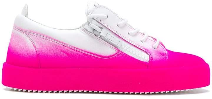 Giuseppe Zanotti Design May London bicolour sneakers