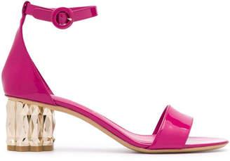 Salvatore Ferragamo Azalea Leather Sandals